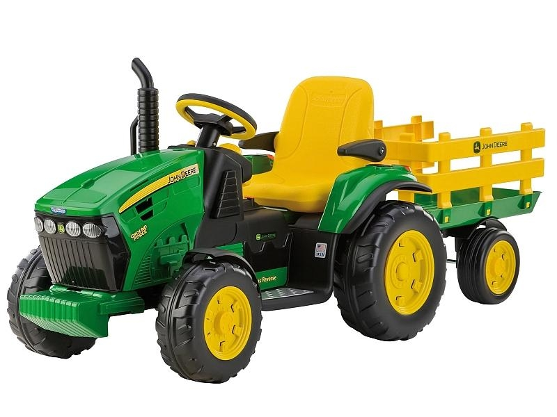Peg Perego JD Ground Force traktor zelený