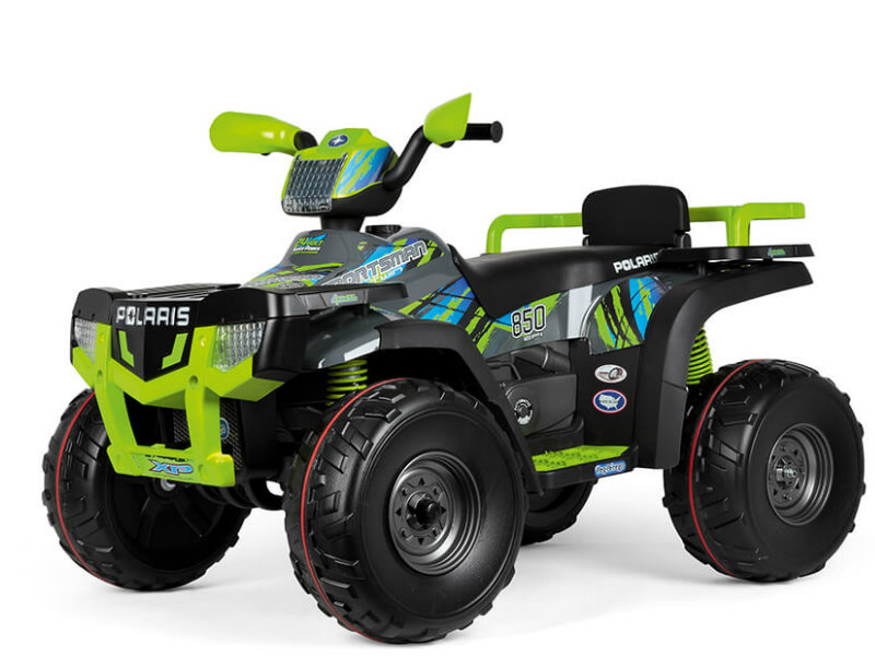 Peg Pérego Polaris Sportsman 850 Lime, 24V