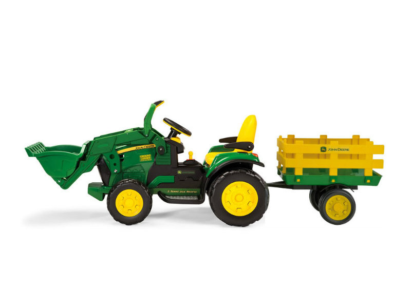 Peg Perego JD Ground Force Loader zelený