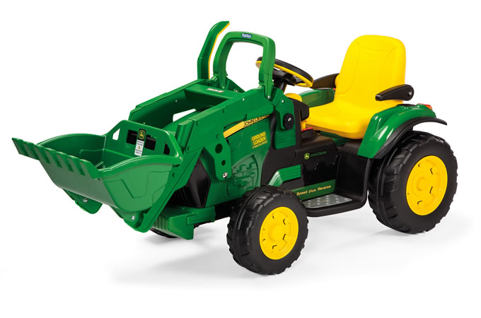 Peg Perego JD Ground Loader zelený